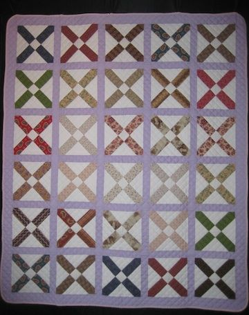 Hand-made Quilt - Friendship Block